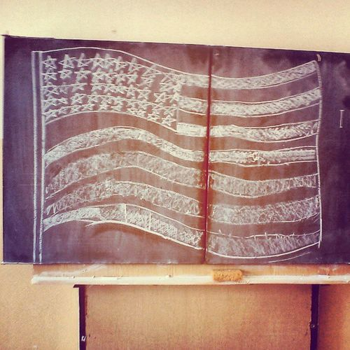 Amerikaas mood.. America USA Flag Draving fun crazy