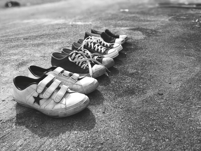 vintage shoes Vintage Style Shoes Street Wear Style Slipon Converse One Star Jack Purcell EyeEm Selects Beach Sand Shore Day Outdoors Sea No People