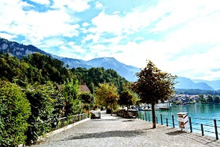Vanishing Point beautiful landscape enjoying holiday clouds & sky mountains lake love natur ?????