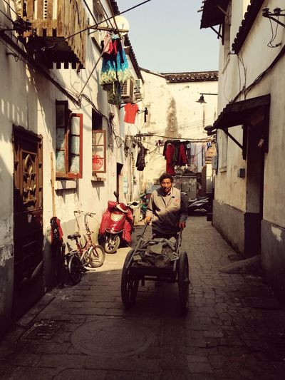 People Watching People Photography Old Town Traveling China Suzhou, China Working Life 人 生活 平淡 Normal Day Man