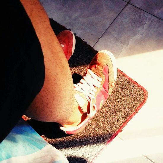 compremen zapatos!!!😂😂😂Canserbero  Lacoste Nirvana