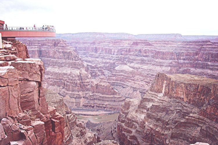 Grand Canyon Skywalk Water Cool