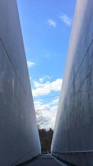 近つ飛鳥博物館行ってきた。 Sky Cloud - Sky Architecture Architecture IPhoneography IPhone Photography EyeEm Best Shots EyeEm Best Edits Tadao Ando 建築 安藤忠雄