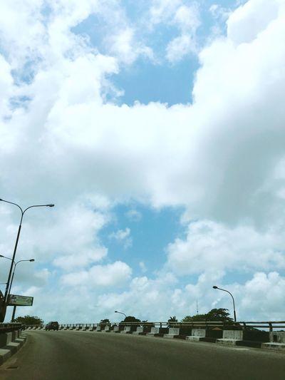CloudPhotography Bluesky Drivingtowardsthehorizon Photosfromtheroad Cloudshapes Dogbonecloudshape