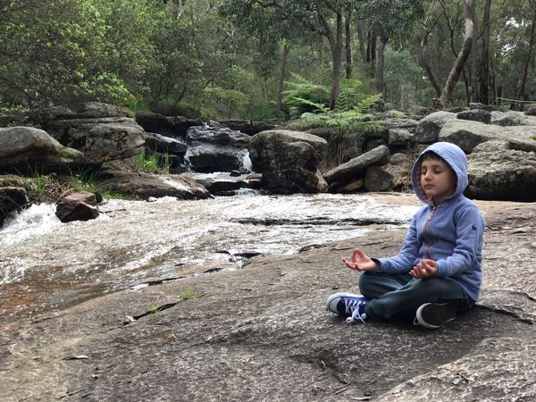 Breathing Space my son meditating ❤️