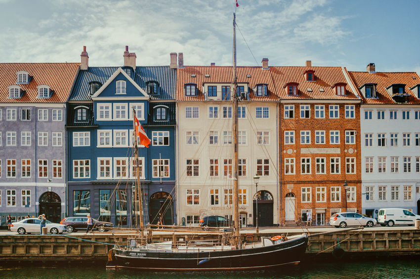Architecture Building Building Exterior Built Structure Canal City Cloud - Sky Day Mode Of Transportation Nature Nautical Vessel No People Outdoors Passenger Craft Residential District Row House Sky Transportation Travel Travel Destinations Water Waterfront Window #urbanana: The Urban Playground