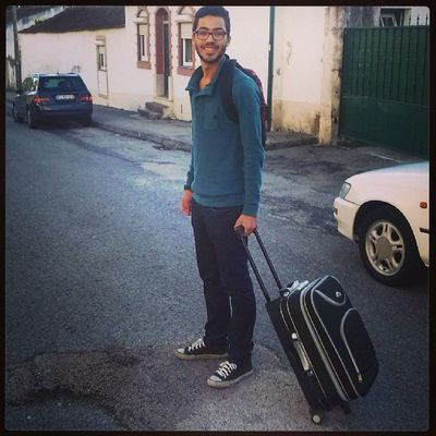 Going home! Ola Coimbra Adeus Figueira a caminho de casa para ir estudar andar a pe cansa instamoments instagram instapic