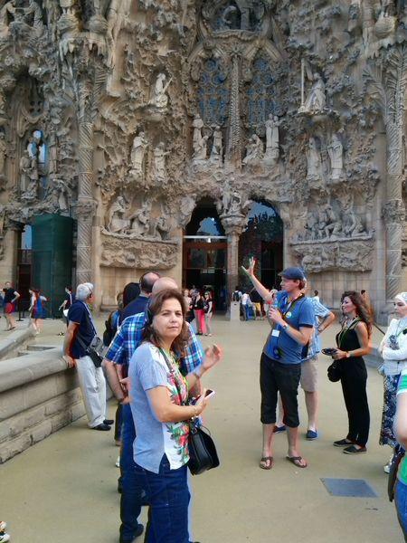 Sagrada Familia Antonio Gaudi Architectural Master Piece