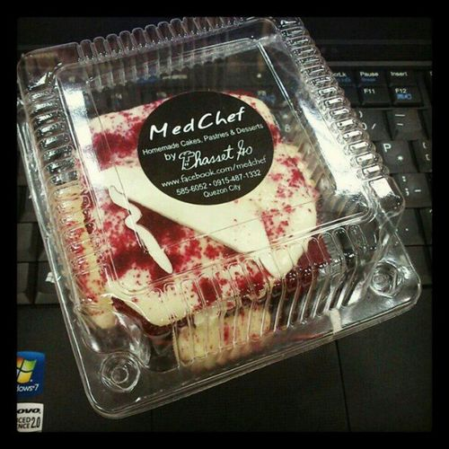 Mouth watering red velvet courtesy of Med Chef. Cake Pastry Redvelvet Medchef