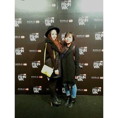 Day 1 with @jay3nn ♡ Wmcfw Fashionweek Torontofashionweek Backstage fashion ootd style 얼짱 셀카 한국인 selca korean koreangirl asian asiangirls ulzzang uljjang instamood instagood fotd selfie toronto igerstoronto