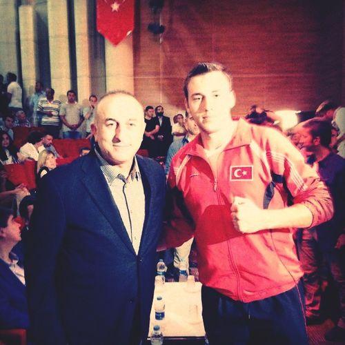 Dışişleri Bakanı SayınMevlüt ÇAVUŞOĞLU And Me Champ Antalya Man
