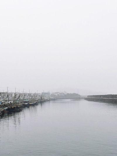 Sky Water Port Ocean Ship