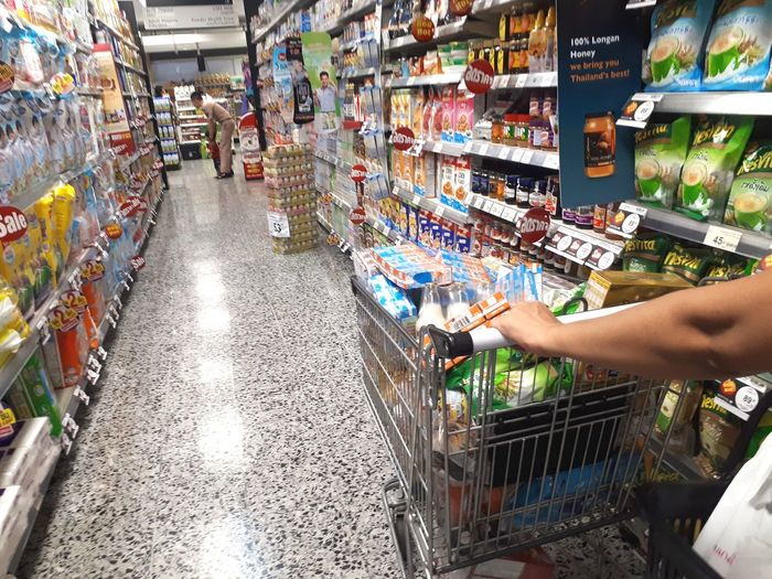 Peoples shopping in supermarket Shopping ♡ Cart Product Family Lifestyle Mall Holiday Department Customer  Portrait People Supermarket Human Hand Shopping Cart Groceries Market Consumerism Retail  Store Business Choice For Sale Display Raw Stall Market Stall Price Tag Shop Collection Produce Aisle