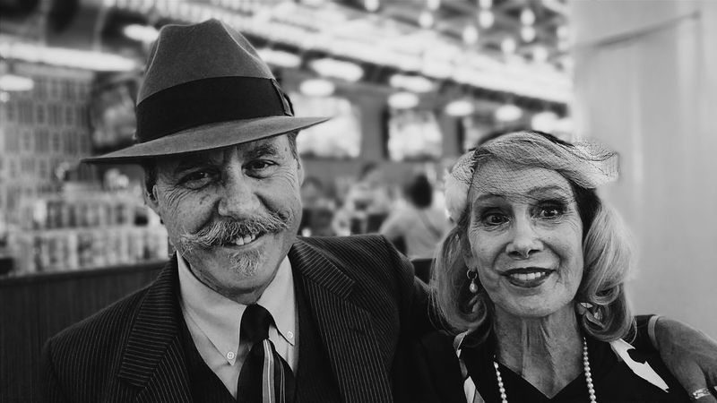 Never let your age dictate how much fun you have.That's what I learned from shooting this awesome couple :) Street Portrait Good Times Streetphotography Black And White Collection