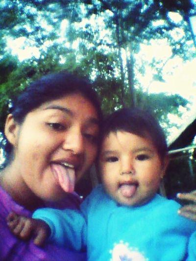 La karen y yop :)