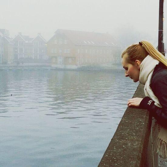 Mist Poetic River Bridge