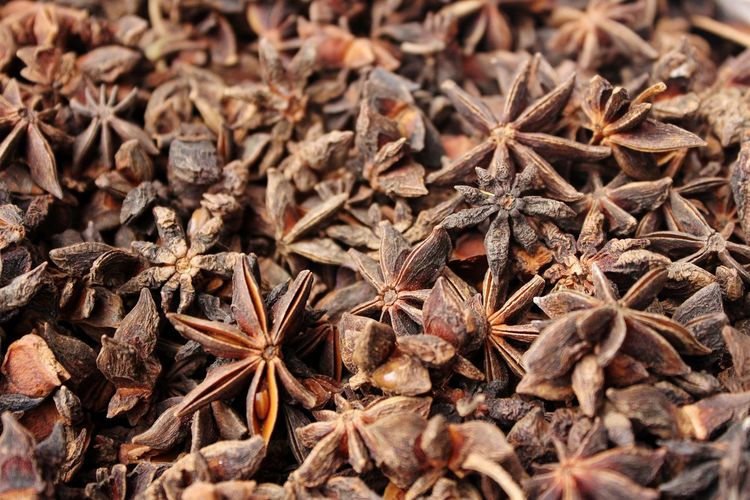 spices Spices Spices Spices Of The World Anise Star Anise Full Frame Backgrounds Market Spice Close-up Poppy Seed Poppy Blooming