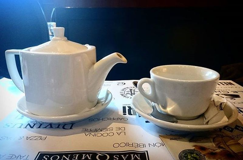 Would you like a cup of tea? Pastel Power Tea Cup Camomile Tea Restaurant Lunch Drink Drinking Drinks Drinking Barcelona Catalonia Interior Views