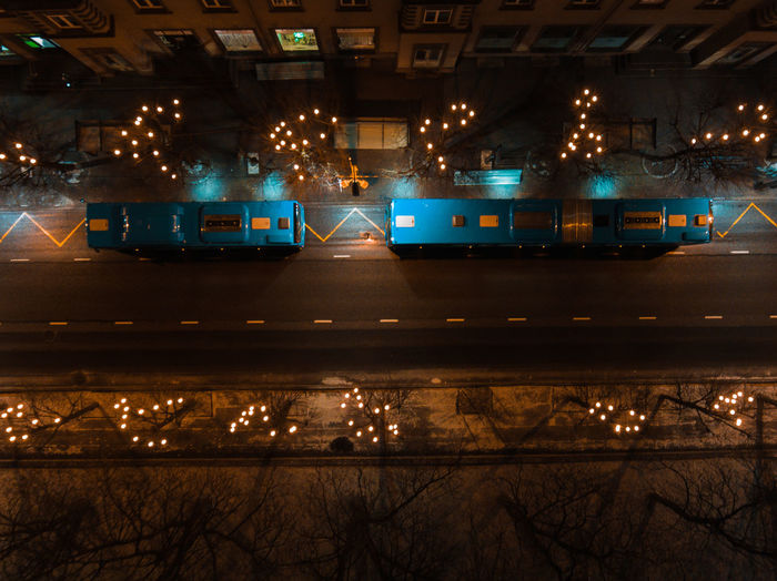 Commuting Drone  Night Lights Nightphotography Bus Stop Busstop Electricity  Illuminated Land Vehicle Lighting Equipment Long Exposure Mode Of Transport Night No People Road Transportation