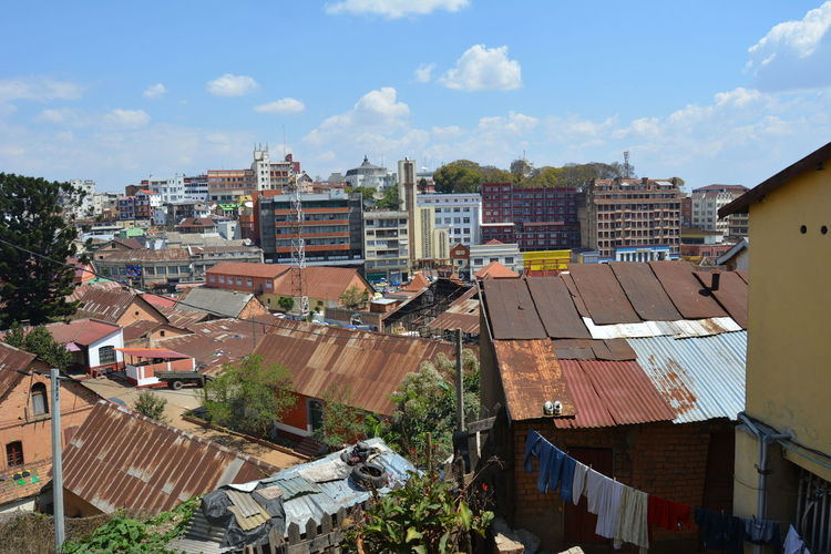 Architecture Architecture_collection Houses Antananarivo Architecture Building Exterior Buildings Built Structure City Cityscape Cloud - Sky Clouds And Sky House Madagascar  Old Houses Outdoors Sky Tananarive
