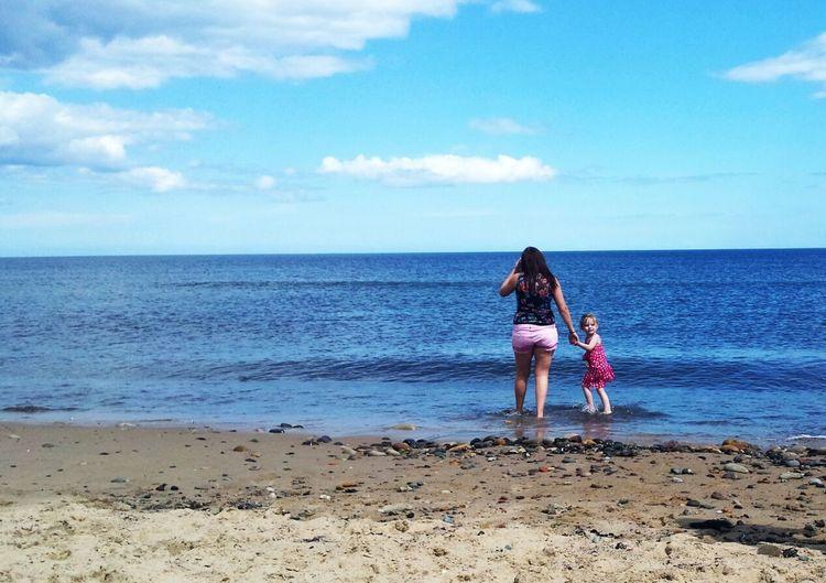 Beautiful Family Love  Beach
