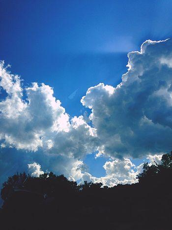 Clouds Blue Blueskys Sunshine Beautiful Beautiful Nature Gorgeous Day!! Enticing Enjoying Life Hanging Out