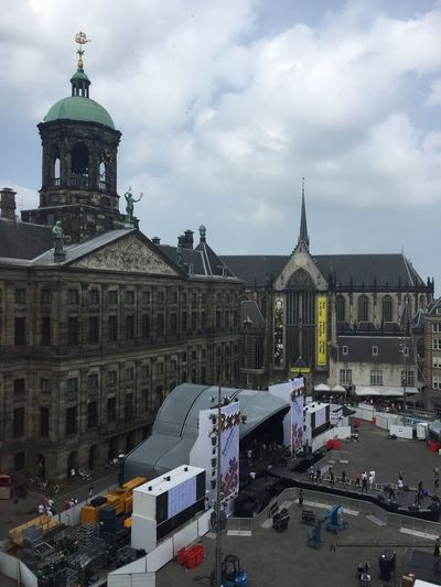 Amsterdam Showcase July 2016 Madame Tussauds Prideparade From My Window