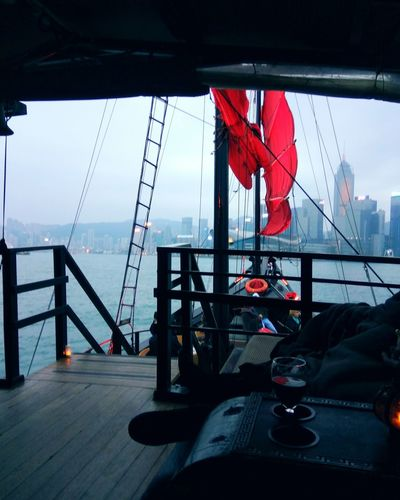 life is like sailing you can use any wind to go in any direction Sailing Victoria Harbour Chillout Spot Day Blue Sea Bestweather Hongkongcity ChillBreezes