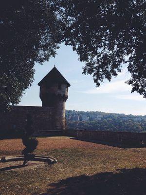 Castle Traveling Art Getting Inspired