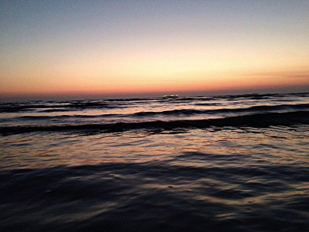 Beautiful Place Nature Sea Sunset
