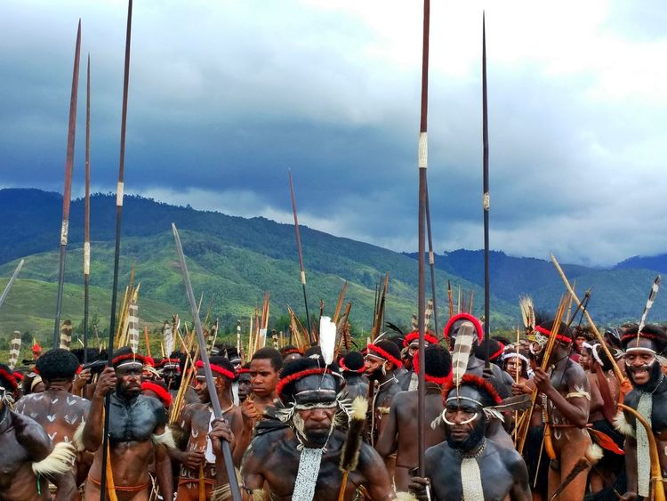 The Photojournalist - 2017 EyeEm Awards Papua Warriors Tribe Baliemvalley Tribal Culture Dani People Indigenous People