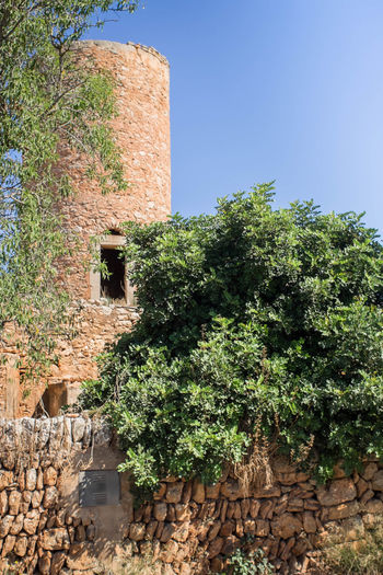 Built Structure Building Exterior Agriculture Outdoors No People Clear Sky Architecture Day Tree Nature Sky Mallorca (Spain) Santanyi Manuelkiese Mallorcaisland Mallorcaphotographer