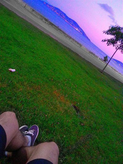 The Prince Islands Evening Sky And Me Island Marmara Dragos Heybeliada Maltepe Istanbul Turkey