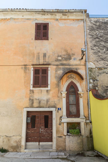 Old Poreč house... Architecture Croatia Old Town Porec, Croatia Poreč House Poreč Town Travel Architecture Building Exterior Croatian House Day Door History House No People Old Architecture Old Building  Old Buildings Old House Old Houses Old Towns Outdoors Porec Rustic Window