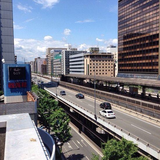 さあっと 江坂で買い物を (´・Д・)」 Sky OSAKA Kansai ソラ 空雲cloud