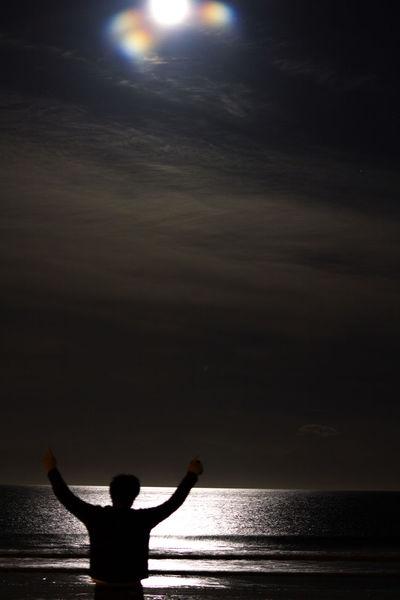 Balance Cloud Cloudscape Enjoyment Escapism Moody Sky Silhouette Sky Supermoon 2014 Tranquil Scene