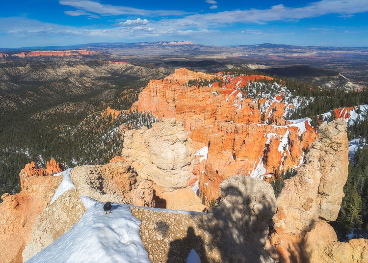 Bryce canyon national park, Utah, USA National Park USA Utah Beauty In Nature Bryce Canyon National Park Cloud - Sky Day Environment Formation Landscape Nature No People Outdoors Rock Rock - Object Rock Formation Scenics - Nature Sky Snow Tranquil Scene Travel