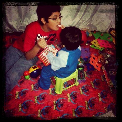 tio & sobrino los amo *u* <3