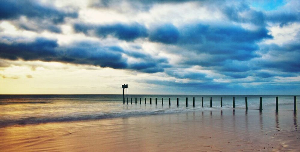Sea Horizon Over Water Water Sky Tranquility Beach Tranquil Scene Scenics Nature Beauty In Nature Cloud - Sky Idyllic No People Sand Day Outdoors