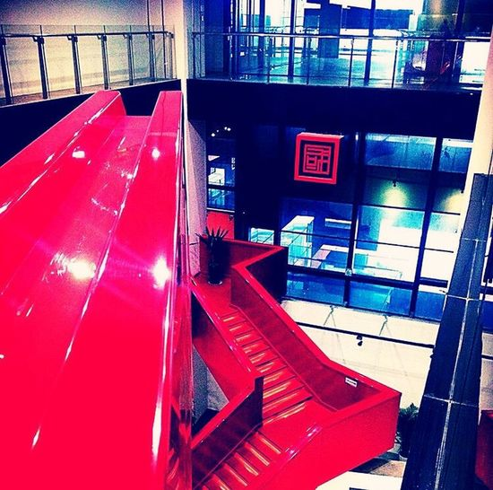 Black&Red Art Museum Old Pic - New Edit Chongqing Art Museum Leisure Time Still Life Design Architecture Detail