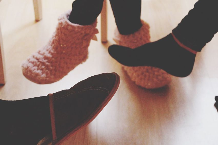 Enjoy The New Normal Indoors  Low Section Real People Human Body Part Human Leg Close-up Sock Togetherness Underthetable Friends Sunday Morning Human Hand Day Always Be Cozy