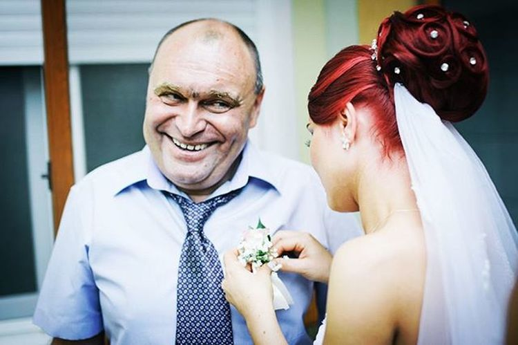 """Vasile, a blind man, attends his daughter's wedding. Arad, Romania, 2015. This image is part of my ongoing project """"Out of the dark"""", about the lives of blind people. More on www.ciprianhord.ro. Photo by Ciprian Hord/@ciprianhord Reportagespotlight Romania Ciprianhord Myfeatureshoot Outofthedark LCStories"""