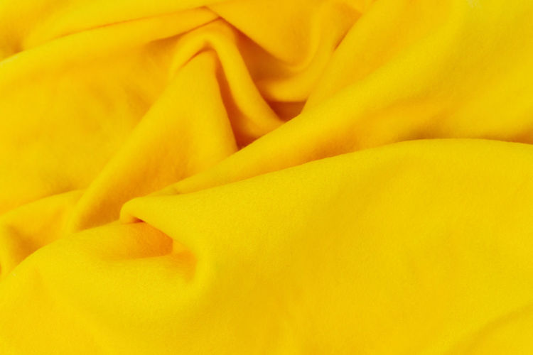 Full Frame Shot Of Yellow Textile