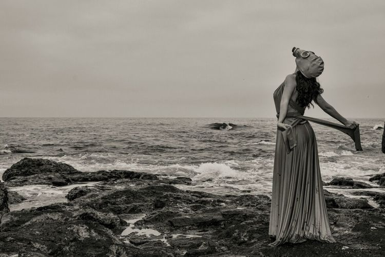 Photography Model Fashion&love&beauty Blac&white