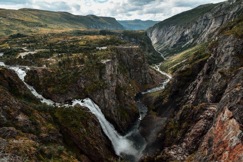 Life force like waterfall