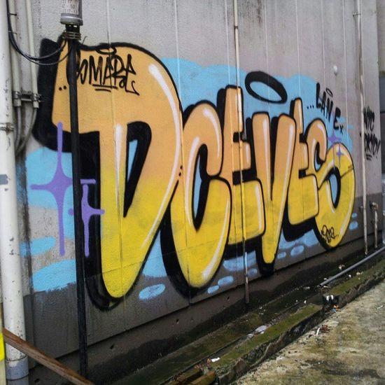 Graffiti Aerosolart Tokyo Shibuya Japan