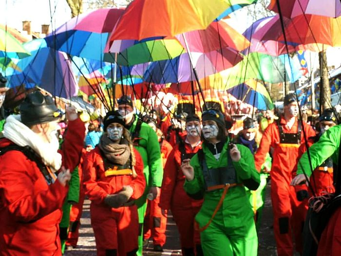 Colors Of Carnival umbrellas