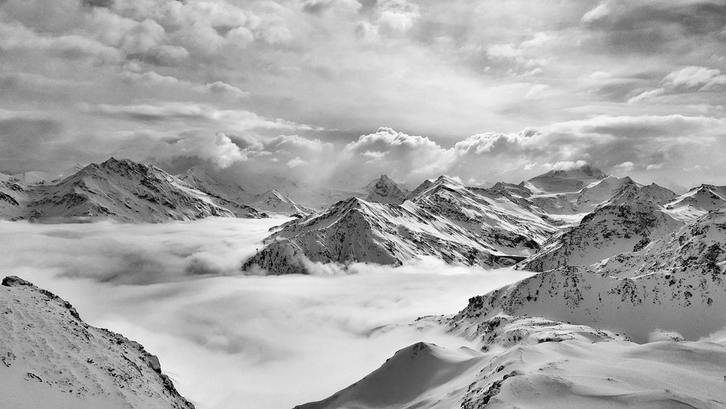 Beautiful Sea of Cloud over Val D'Anniviers in Switzerland The Great Outdoors - 2016 EyeEm Awards