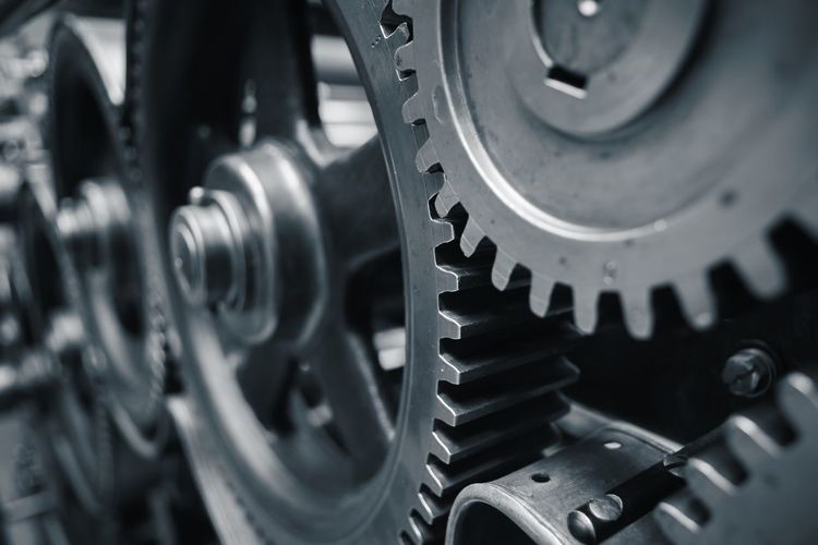 Large cog wheels in the motor - blue toned Accuracy Cog Cog Wheel Cogwheel Connection Detail Engineering Factory Gear Gears Industry Machine Machine Part Machinery Machinery Machinery Close Up Manufacturing Mechanical Metal Progress Technology Wheel Work