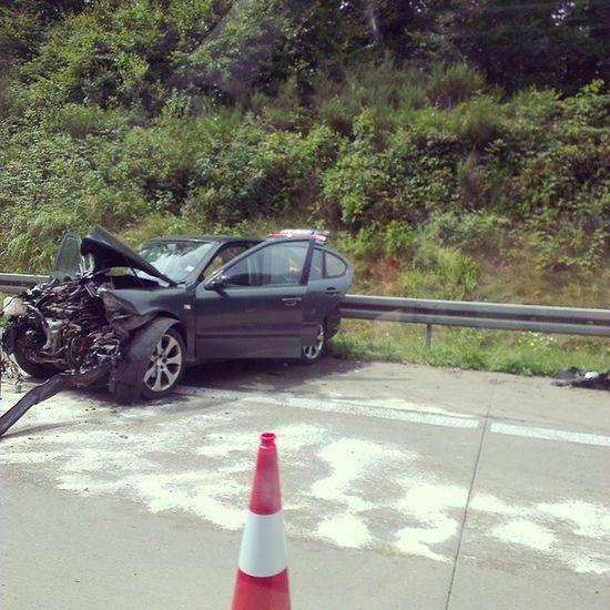Попути авария жесть